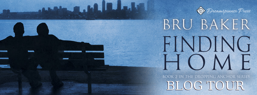 Finding Home blog tour banner