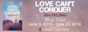 Love Can't Conquer Blog Tour Banner